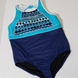 Land's End Swimsuit One Piece Size 20W/L